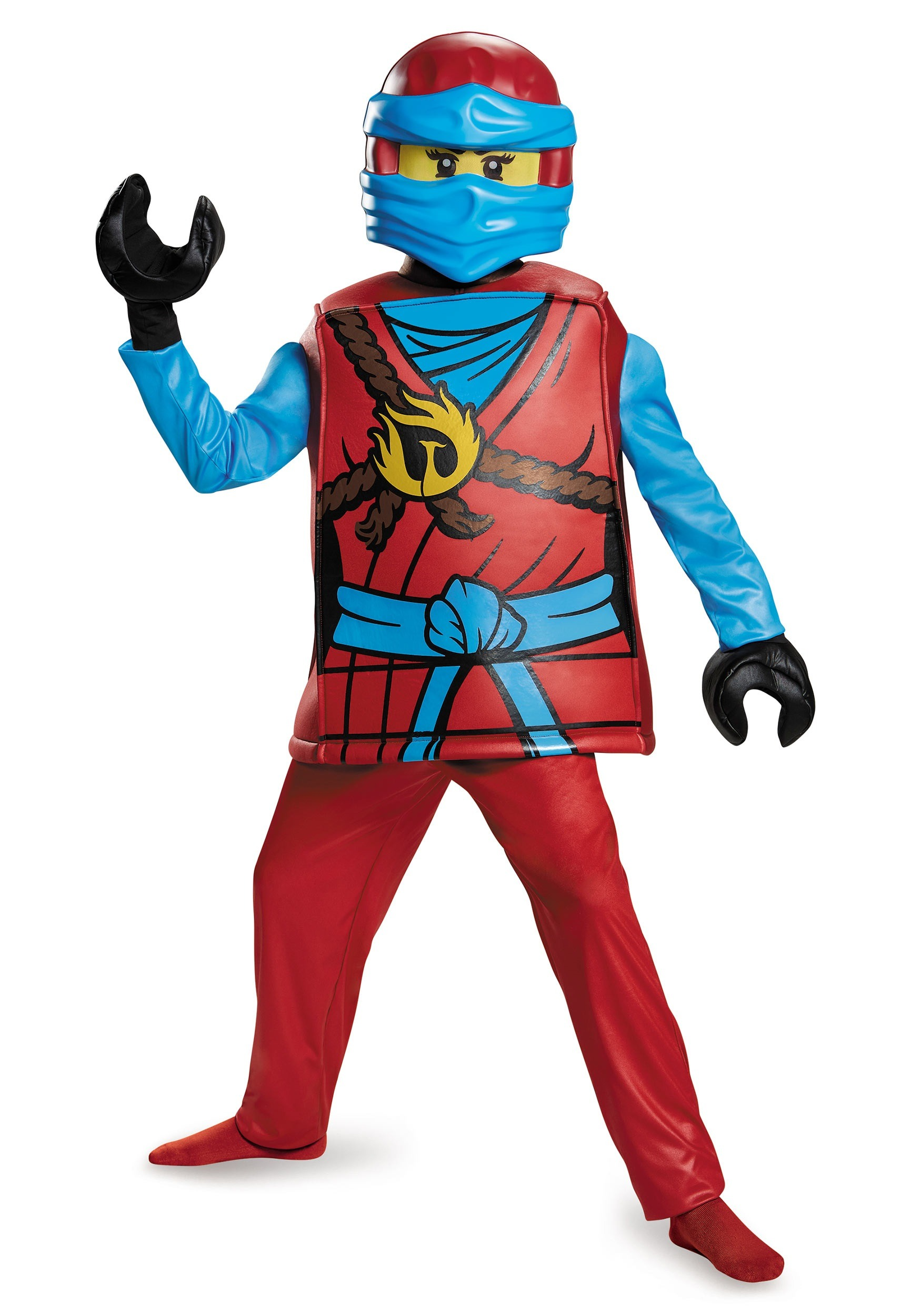 DELUXE NINJAGO NYA GIRLS COSTUME