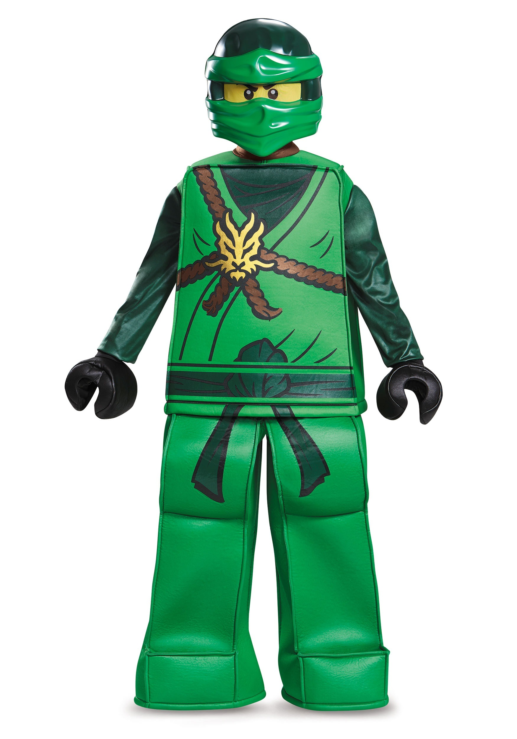 Prestige ninjago lloyd boys costume - Ninja vert lego ...
