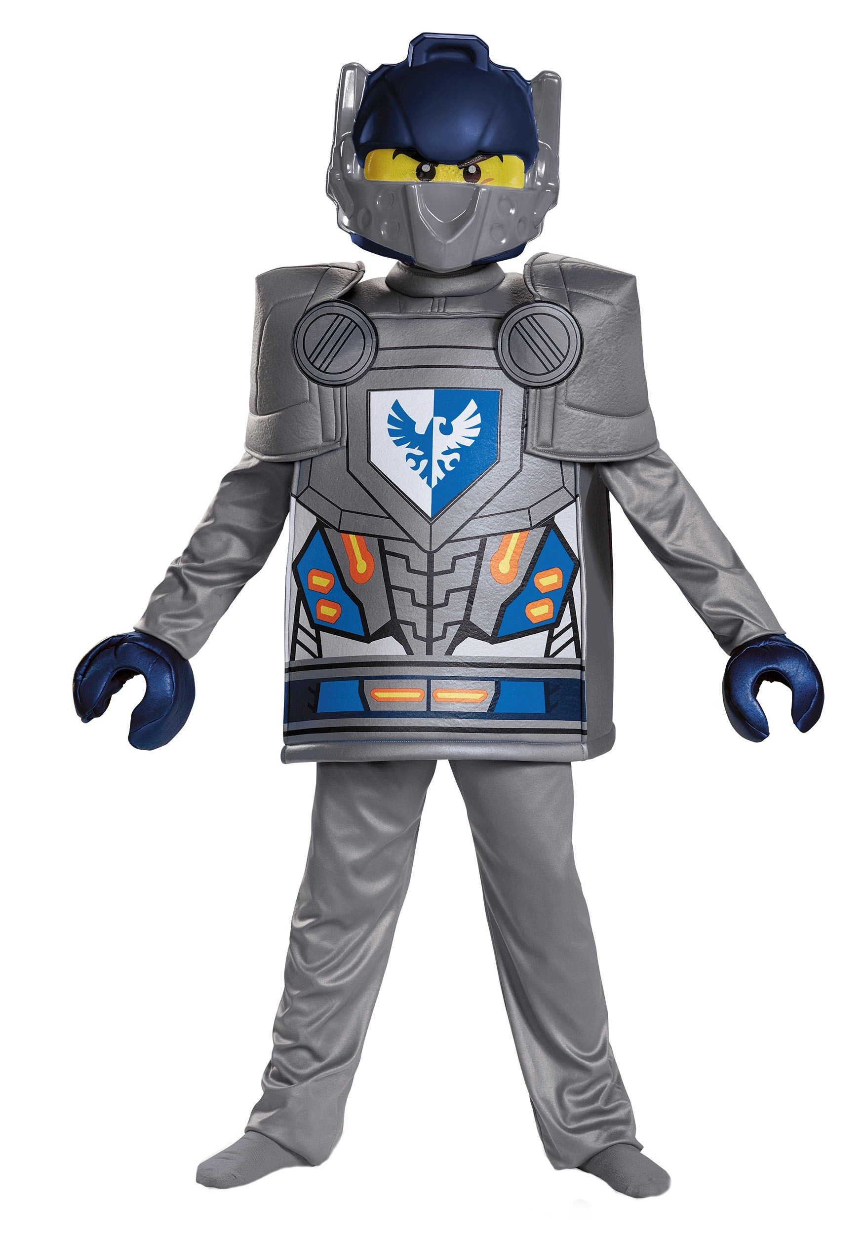 sc 1 st  Halloween Costumes & Deluxe Nexo Knights Clay Boys Costume