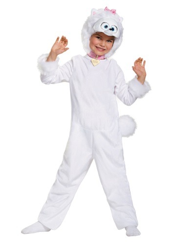 Secret Life of Pets Gidget Deluxe Girls Costume DI11617-3T/4T