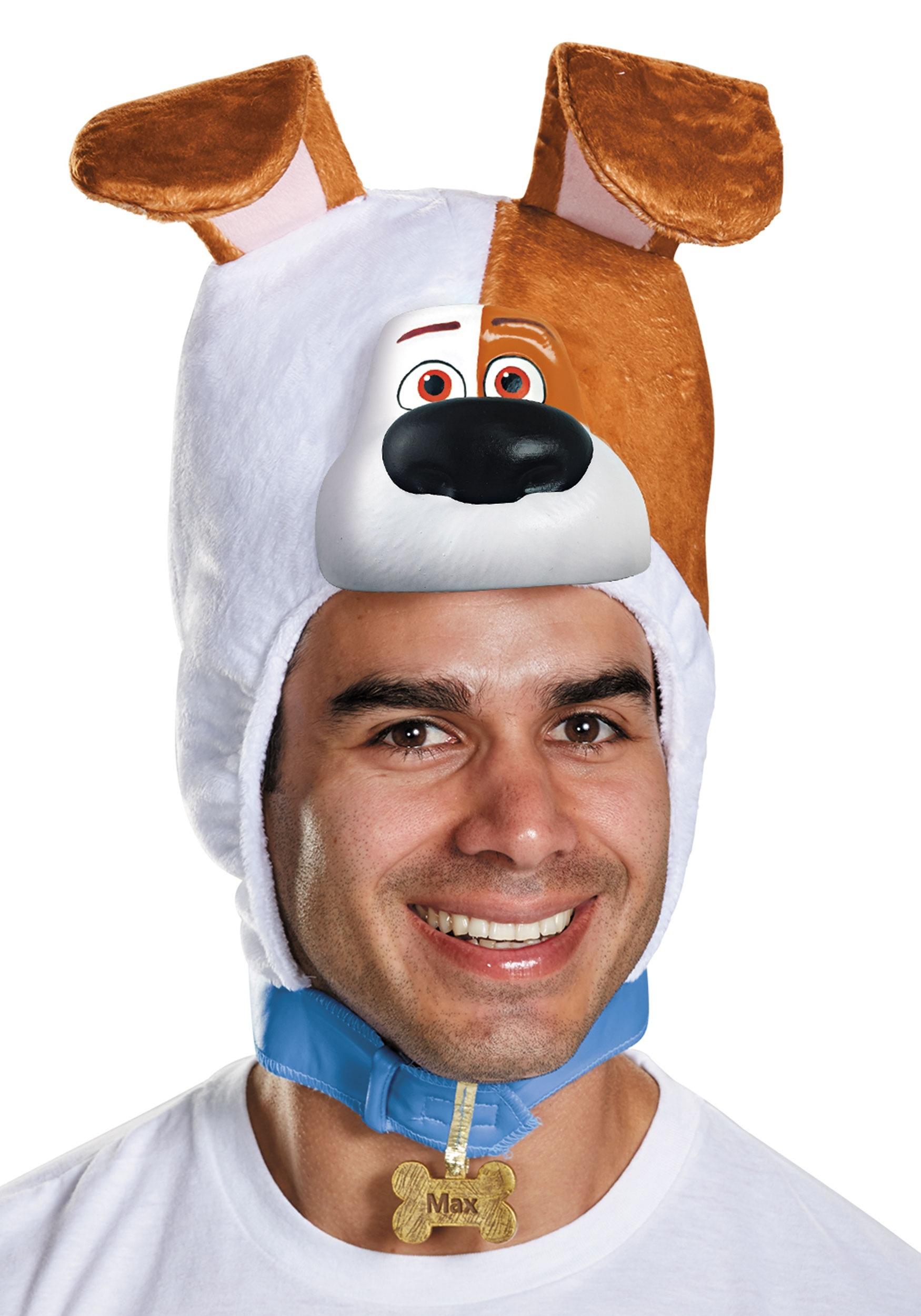 Secret Life of Pets Adult Max Headpiece DI11628