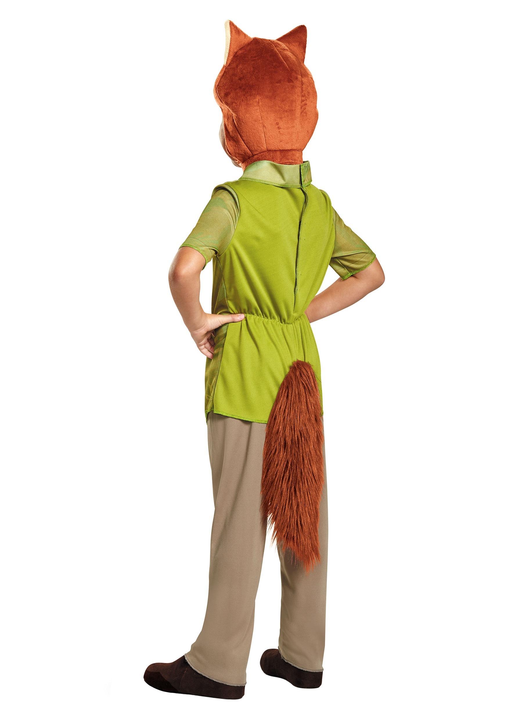 Zootopia Nick Wilde Boys Costume 08759fc553