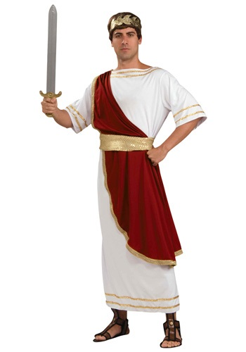 Click Here to buy Adult Caesar Costume from HalloweenCostumes, USA Funds & Shipping