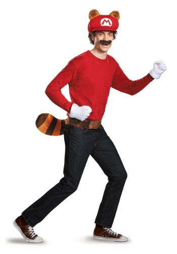 Click Here to buy Mario Raccoon Adult Kit from HalloweenCostumes, USA Funds & Shipping