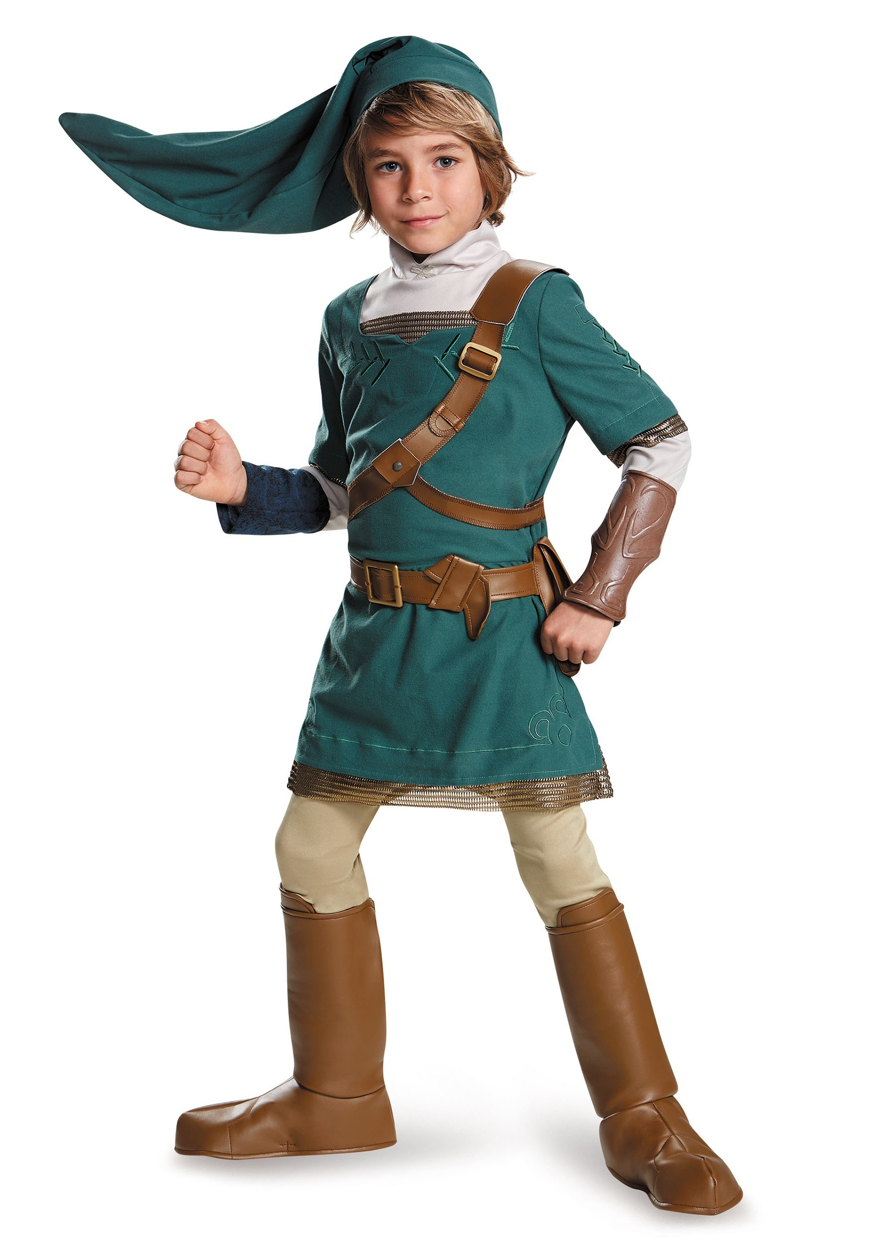Child Link Prestige Costume  sc 1 st  Halloween Costumes & Video Game Costumes - Adult Kids Video Game Halloween Costumes