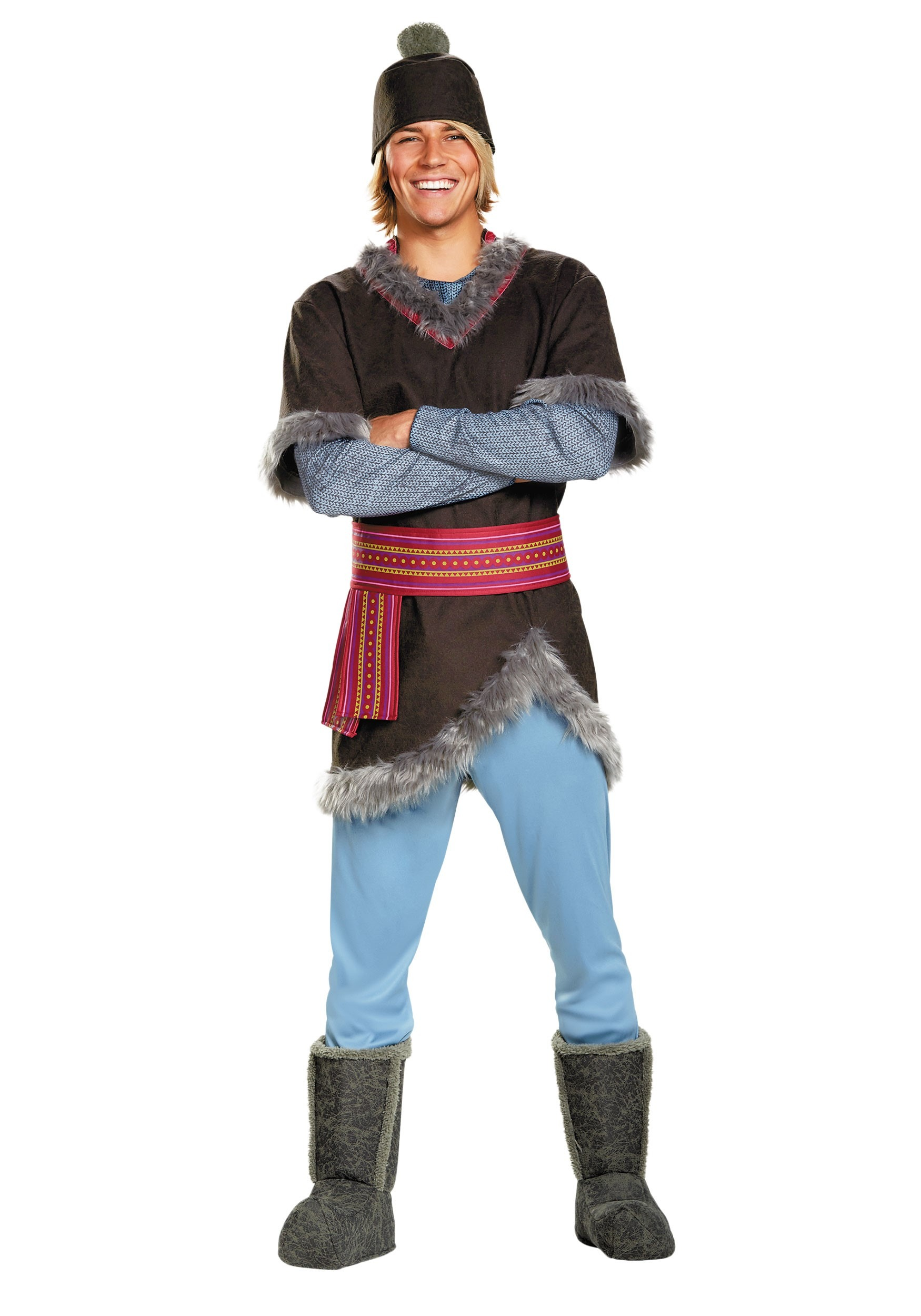 Frozen Kristoff Deluxe Adult Costume  sc 1 st  Halloween Costumes & Frozen Kristoff Deluxe Costume for Men