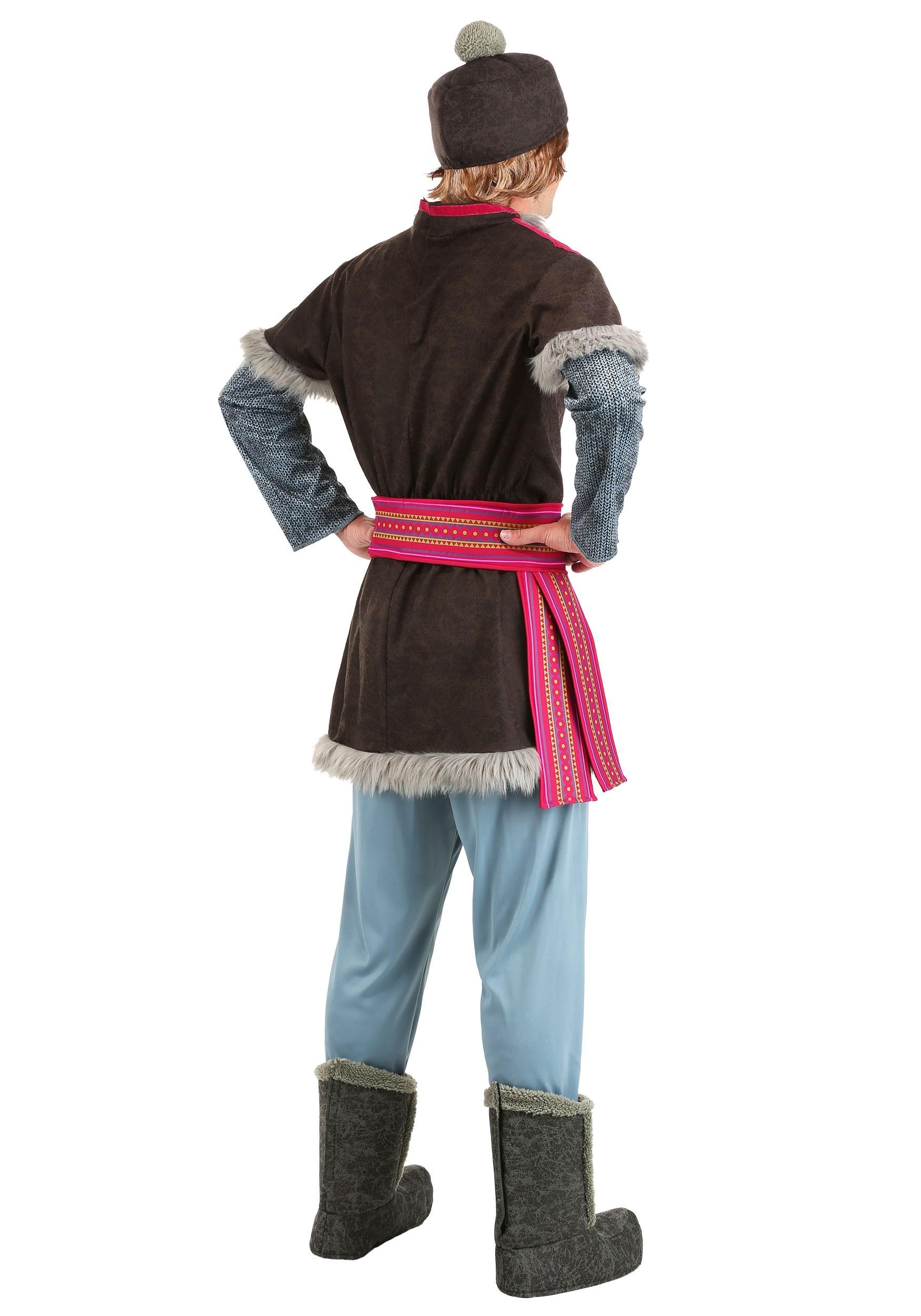 Frozen Kristoff Deluxe Costume For Men