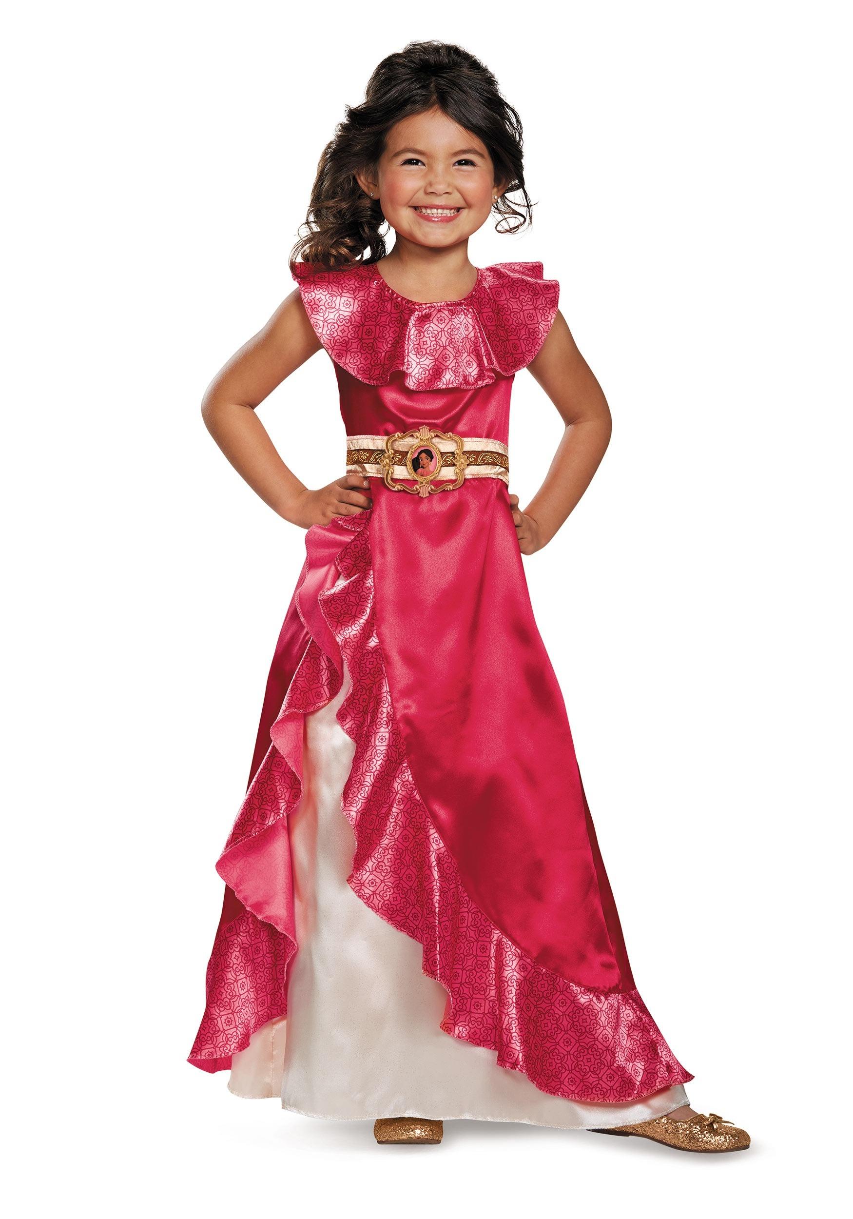 Child Elena Adventure Costume Dress