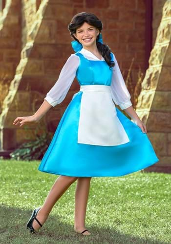 Click Here to buy Tween Belle Blue Dress from HalloweenCostumes, USA Funds & Shipping