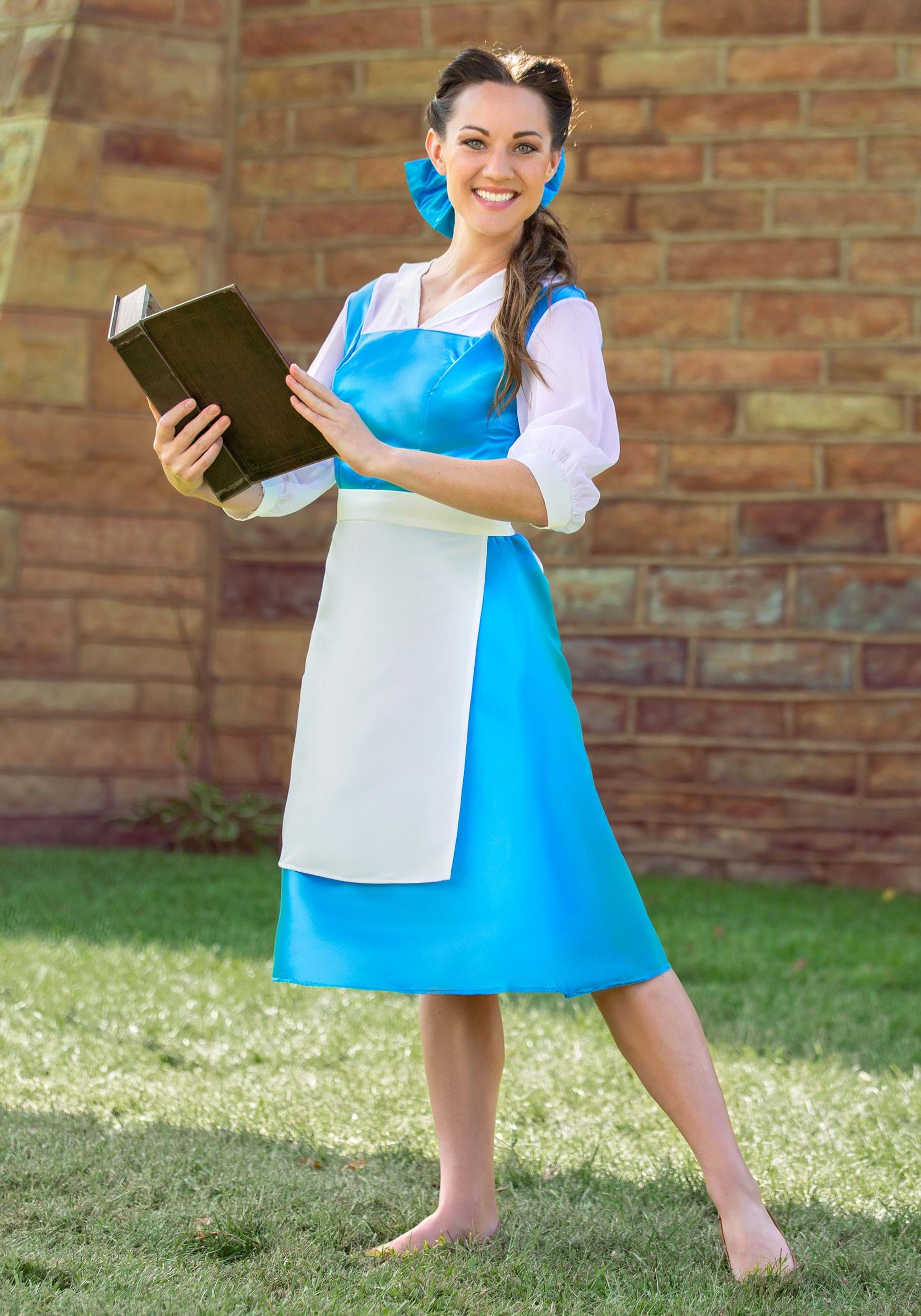 Adult Belle Blue Dress