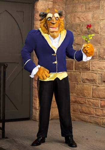 Click Here to buy Adult Beast Ultra Prestige Costume from HalloweenCostumes, USA Funds & Shipping