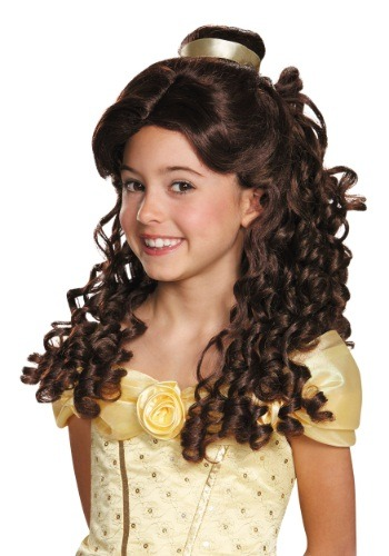 Click Here to buy Kids Belle Prestige Wig from HalloweenCostumes, CDN Funds