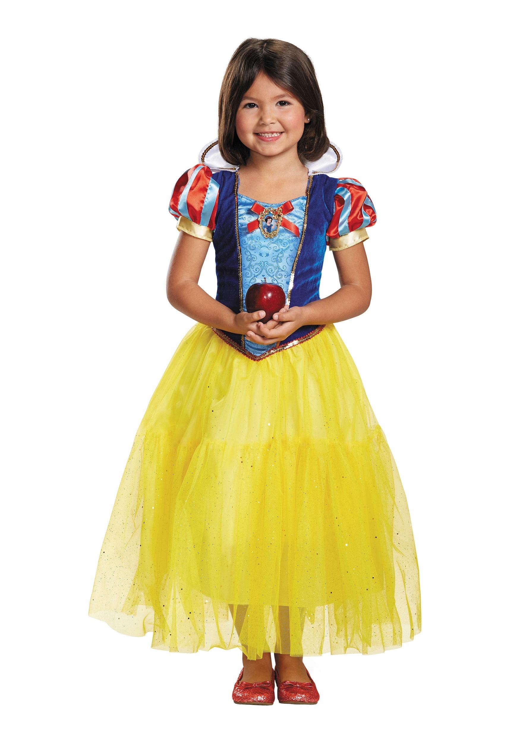 Brand New 2018 Disney Snow White Deluxe Child Costume