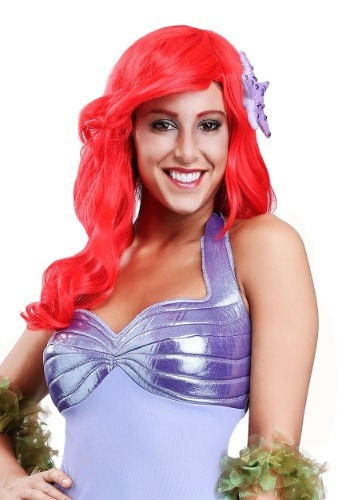 Click Here to buy Adult Ariel Ultra Prestige Wig from HalloweenCostumes, USA Funds & Shipping