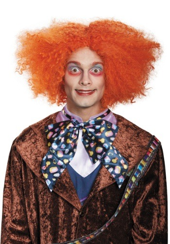Click Here to buy Alice in Wonderland Mad Hatter Adult Wig from HalloweenCostumes, USA Funds & Shipping