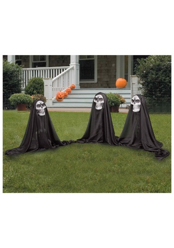 Reaper Group Set of Three - Halloween Decorations, Scary Accessories