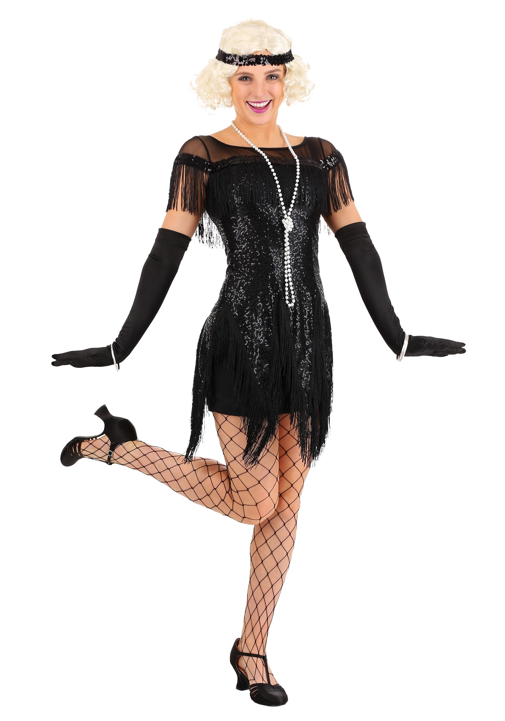 Flapper Costumes & 1920's Dresses - HalloweenCostumes.com