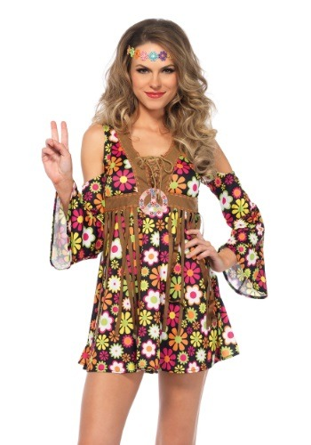 Click Here to buy Womens Starflower Hippie Costume from HalloweenCostumes, USA Funds & Shipping