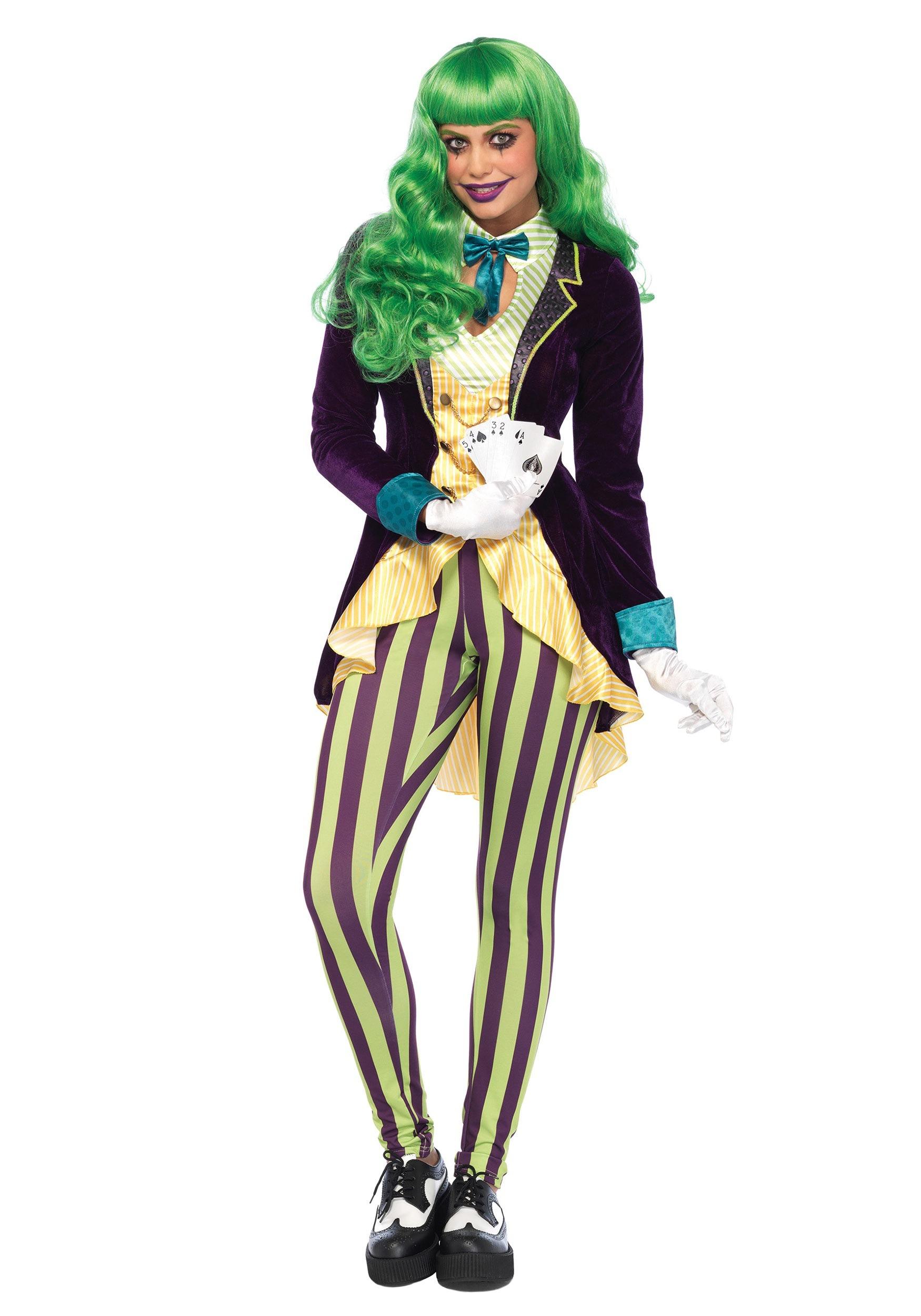 sc 1 st  Halloween Costumes & Womenu0027s Wicked Trickster Costume