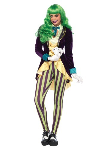 Click Here to buy Womens Wicked Trickster Costume from HalloweenCostumes, CDN Funds