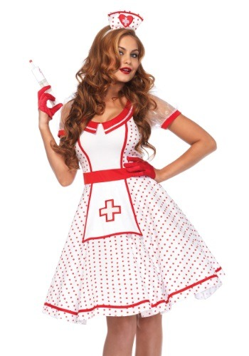 Women's Bedside Betty Costume