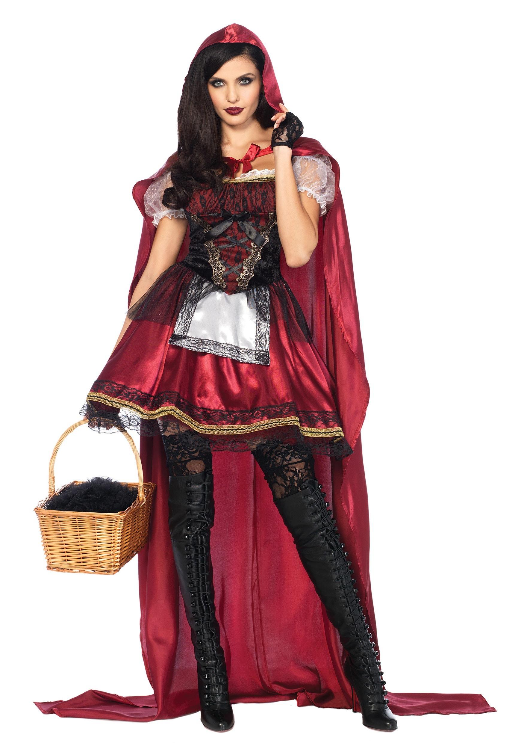 women 39 s captivating miss red costume. Black Bedroom Furniture Sets. Home Design Ideas