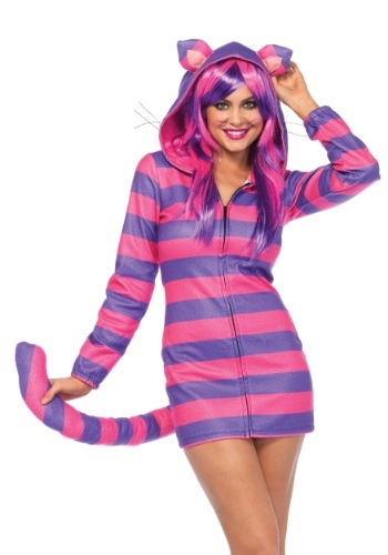 COZY WOMEN CHESHIRE CAT COSTUMES