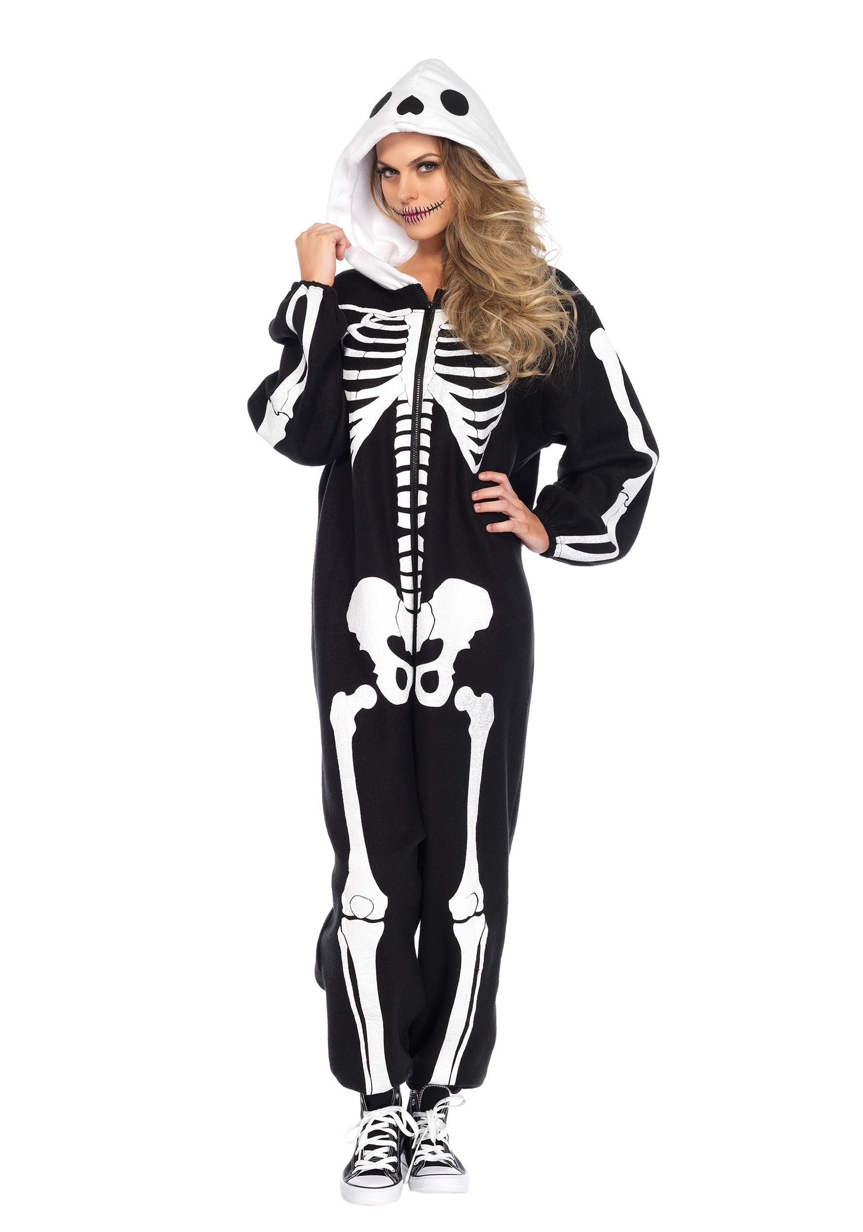 The Skeleton Poncho Costume For Adults is the best Halloween costume for you to get! Everyone will love this Womens costume that you picked up from Wholesale Halloween Costumes!/5(3).