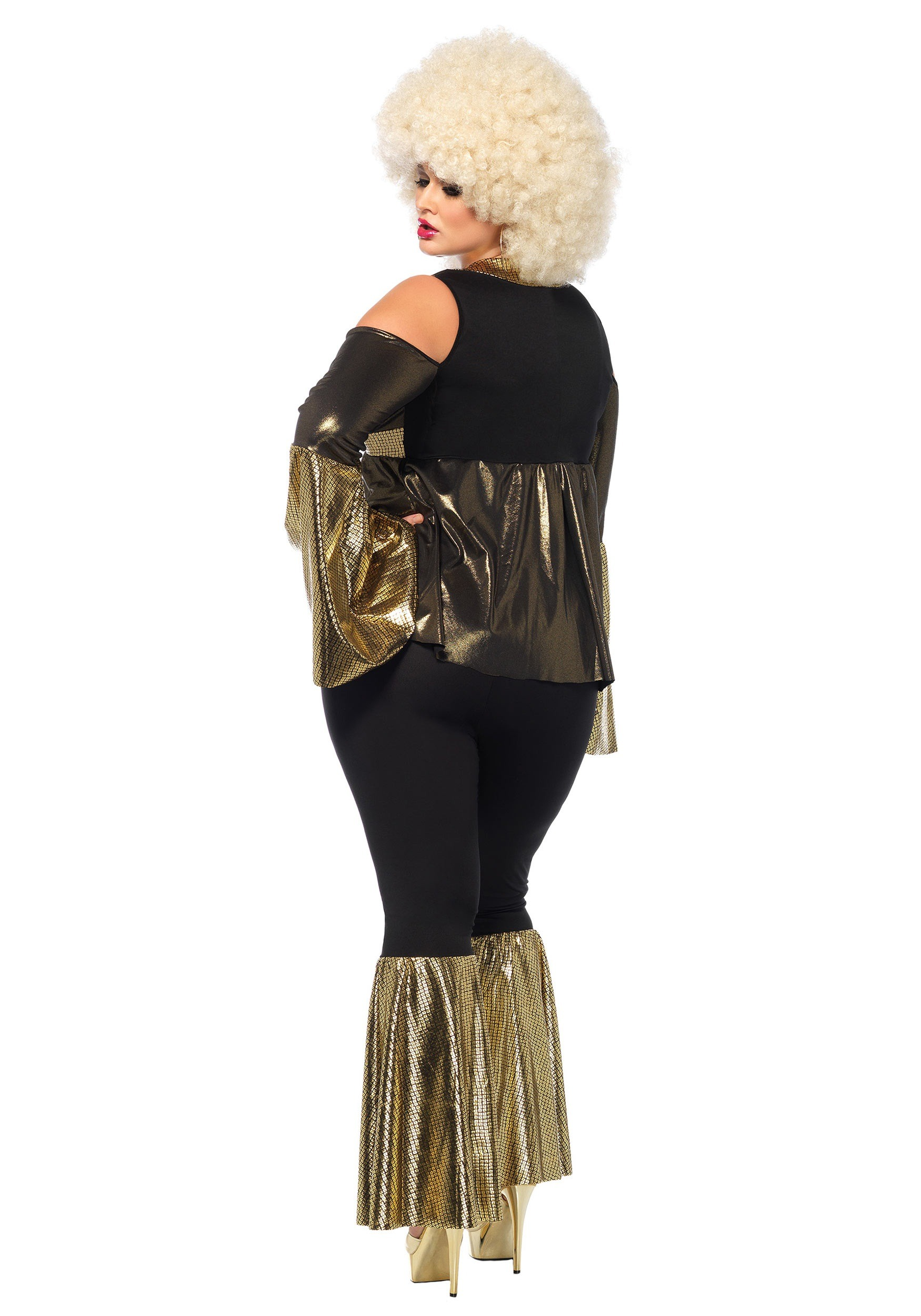 Women\'s Plus Size Disco Diva Costume
