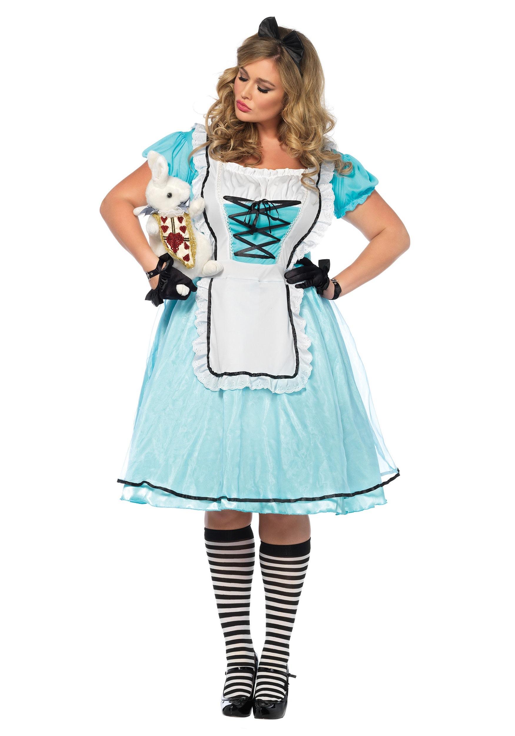 White apron alice wonderland costume - White Apron Alice Wonderland Costume 80