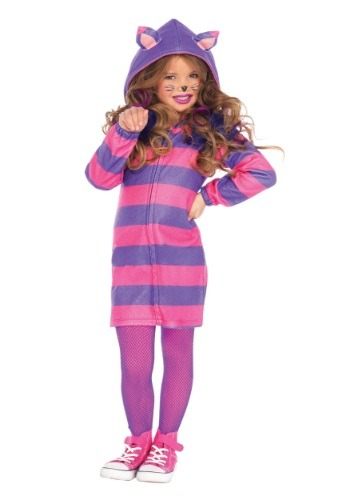 Girls Cheshire Cat Cozy Costume