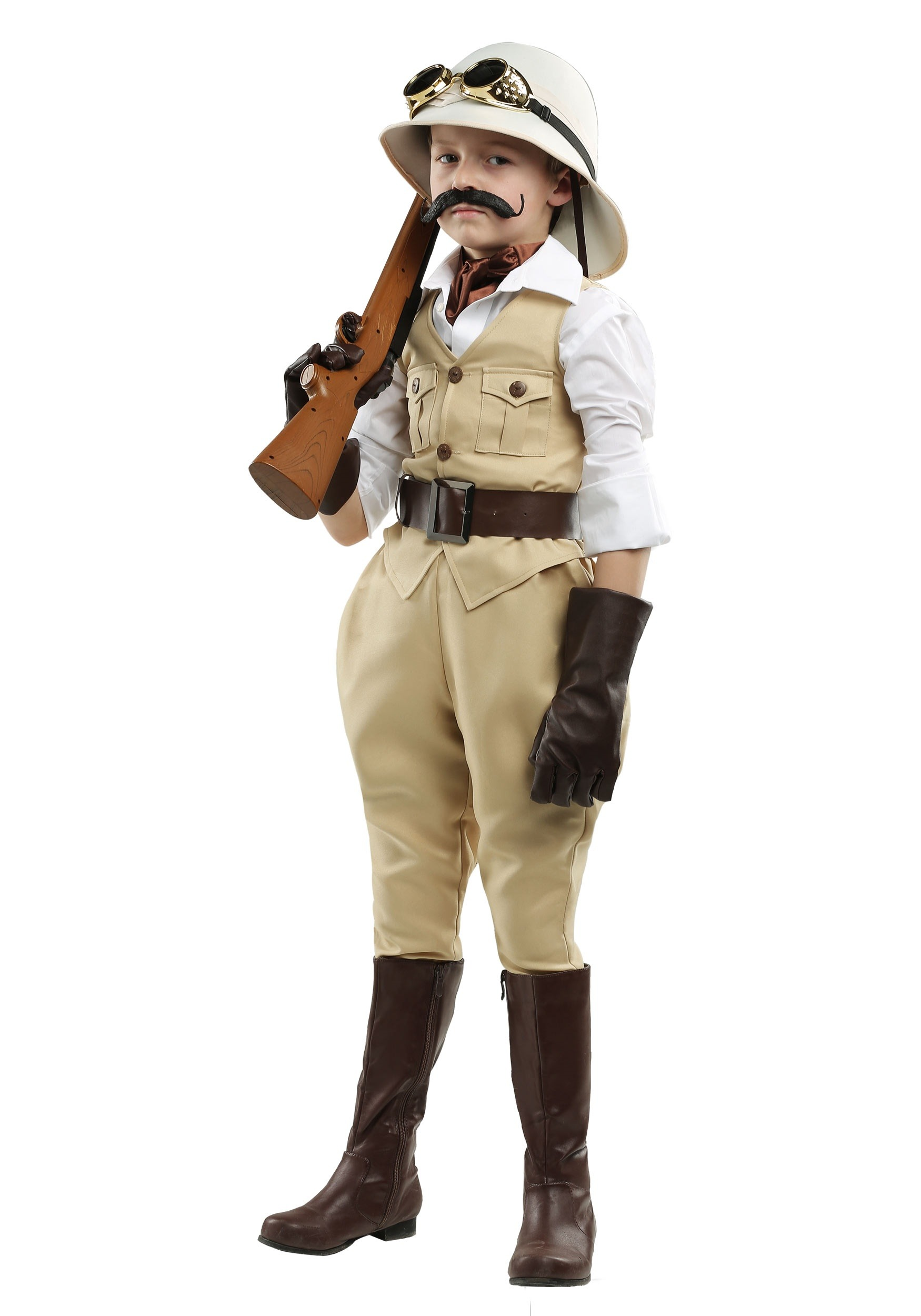 Safari Hunter Boys Costume  sc 1 st  Halloween Costumes & Safari Hunter Costume for Boys