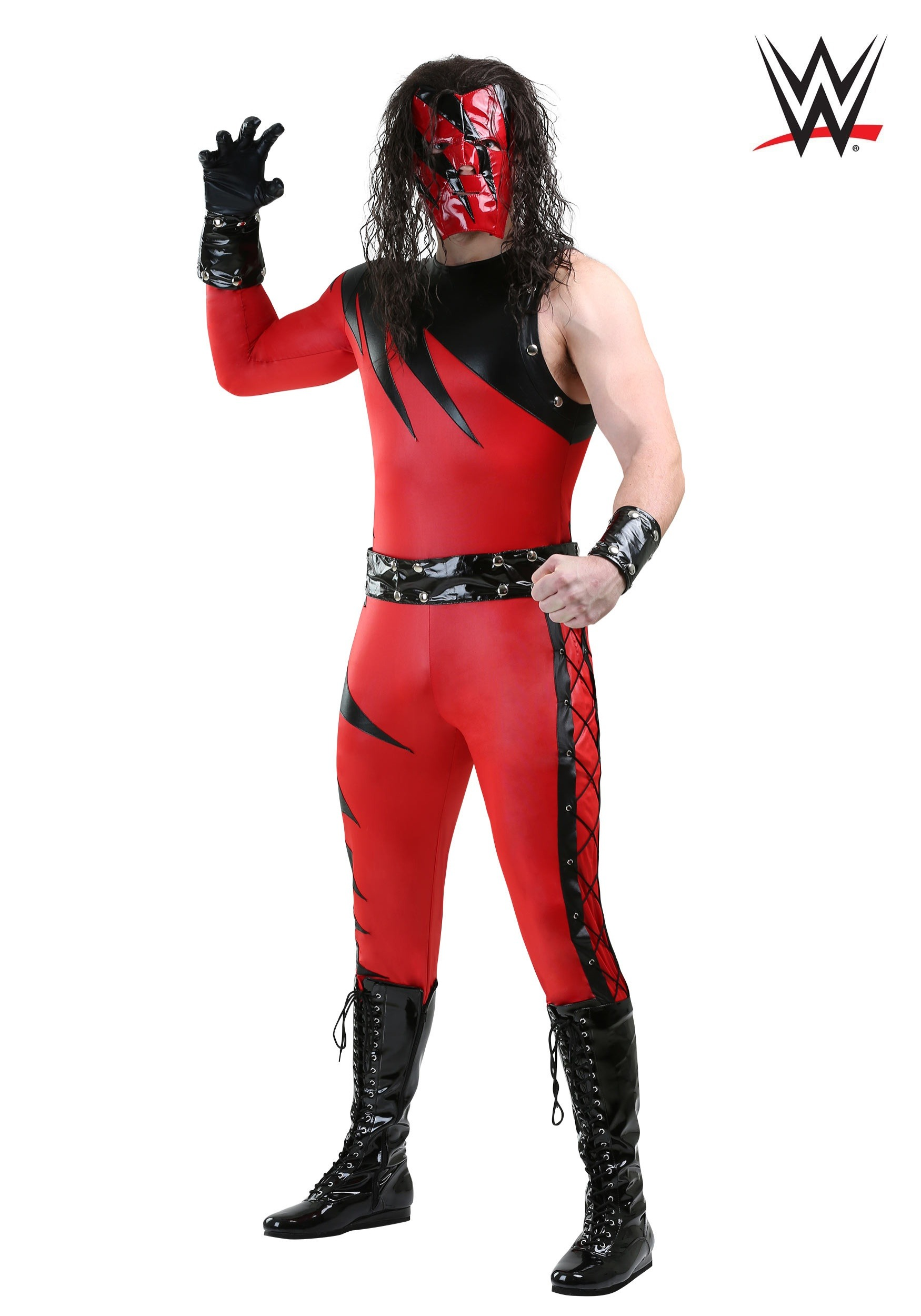 Wwe Kane Plus Size Costume For Men