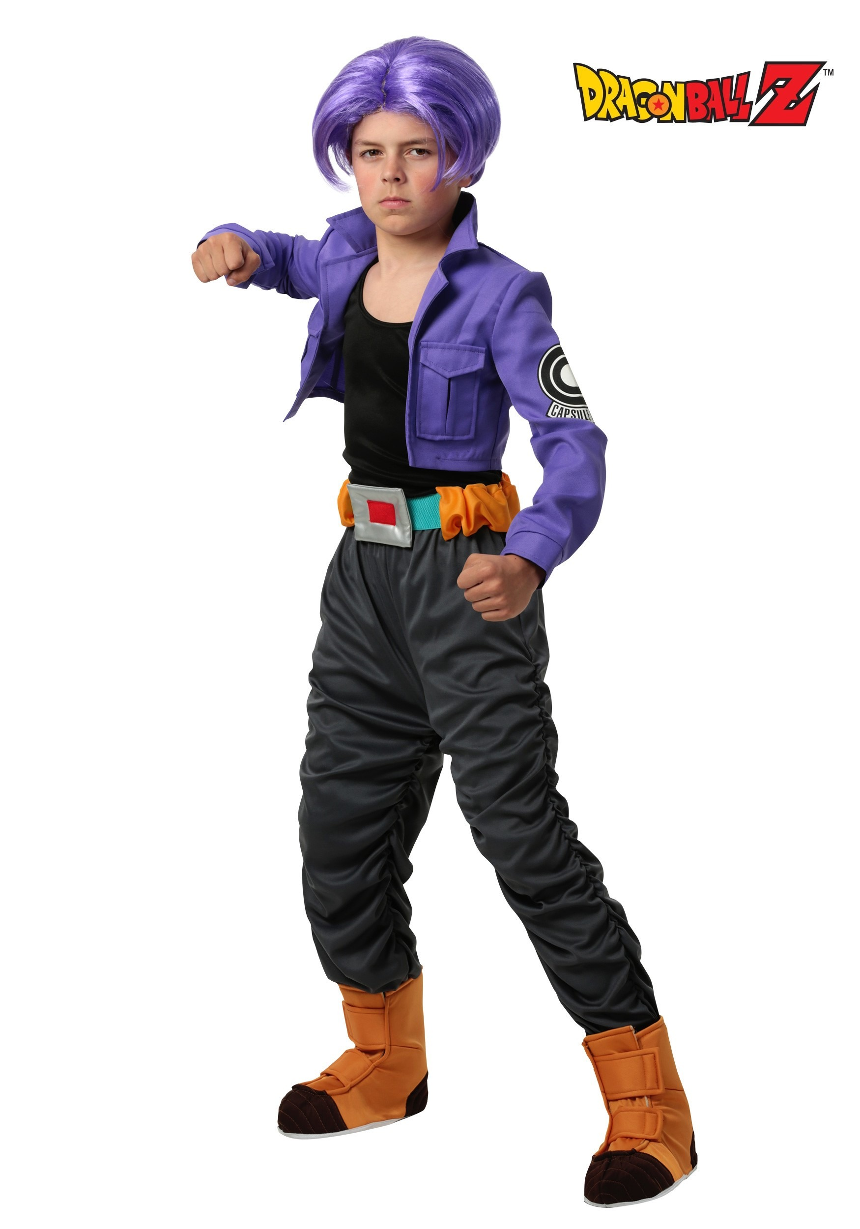 Kids Dragon Ball Z Trunks Costume FUN2217CH