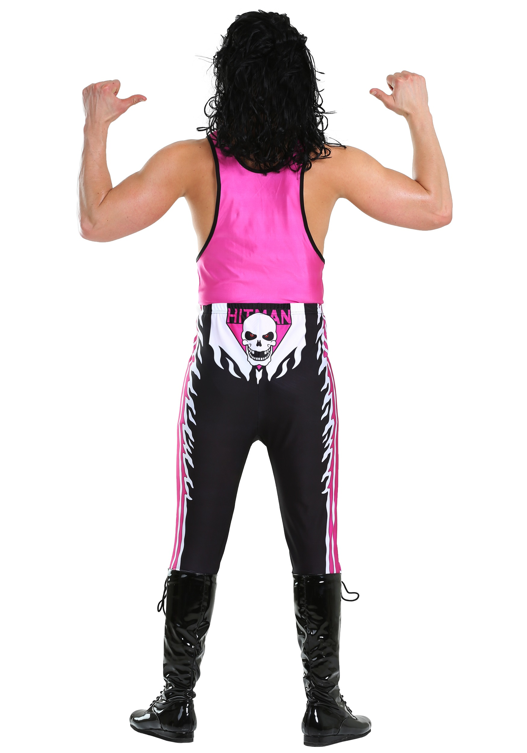 Wwe bret hart costume for men wwe bret hart mens costume solutioingenieria