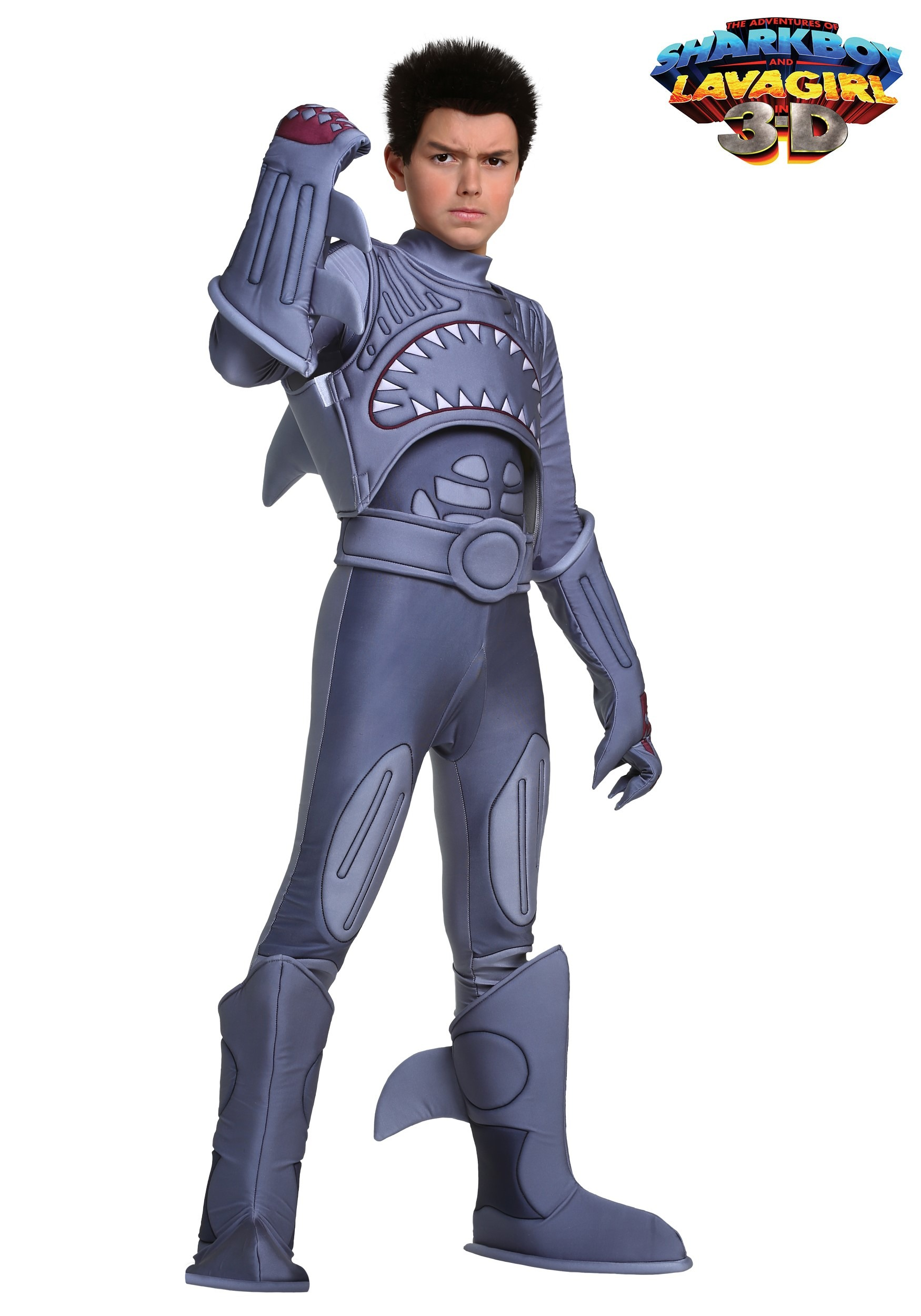 Sharkboy Boys Costume  sc 1 st  Halloween Costumes & Sharkboy Costume for Boys