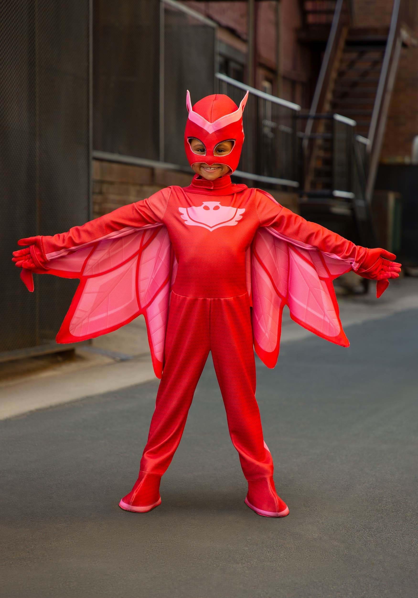 PJ Masks Deluxe Owlette Costume for Girls