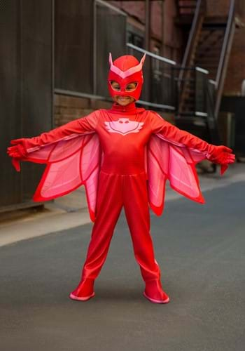 PJ Masks Deluxe Owlette Costume for Girls