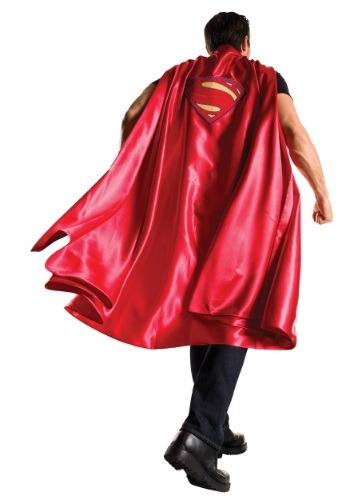 Click Here to buy Dawn of Justice Adult Deluxe Superman Cape from HalloweenCostumes, USA Funds & Shipping