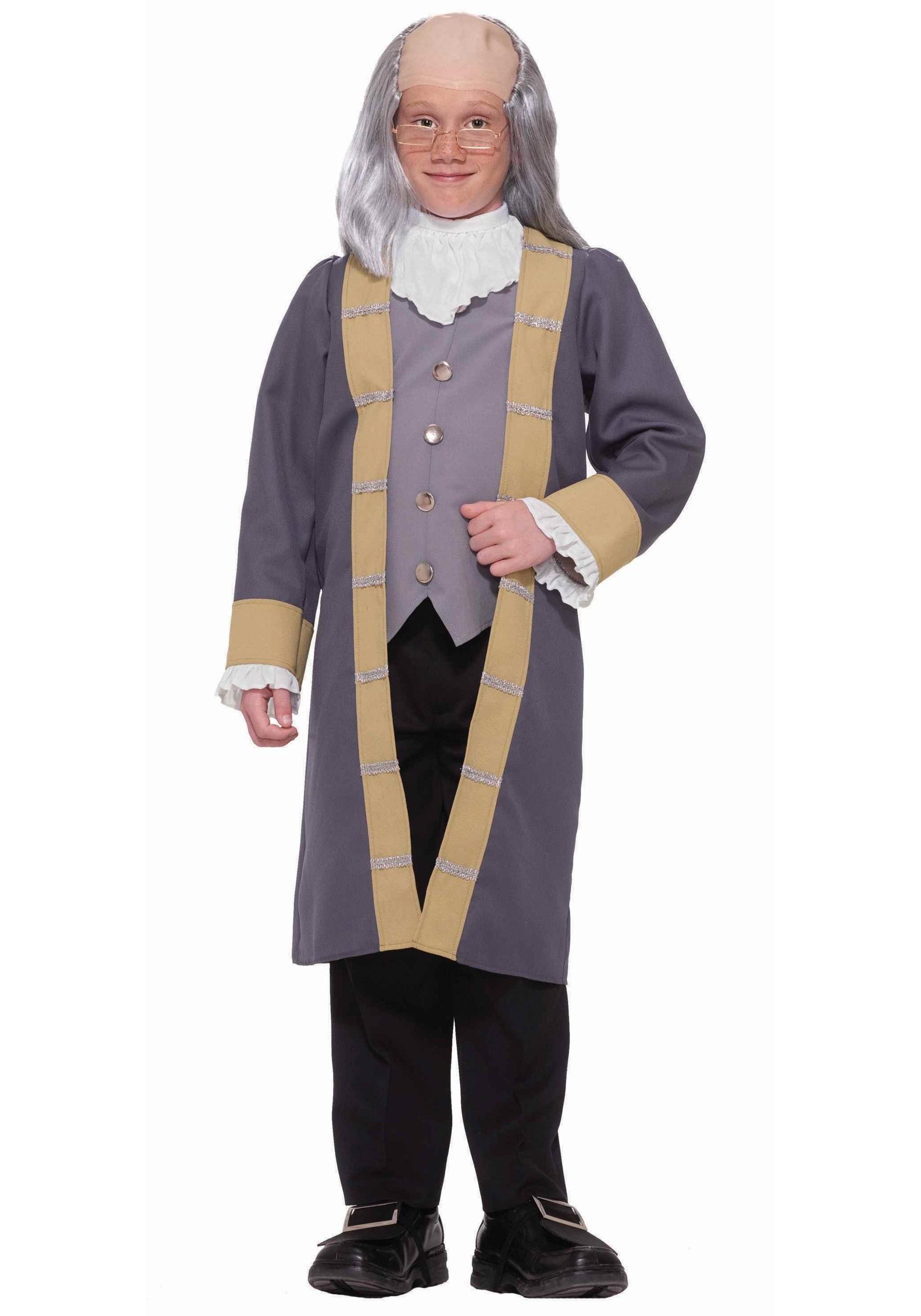 Child Benjamin Franklin CostumeBenjamin Franklin As A Child