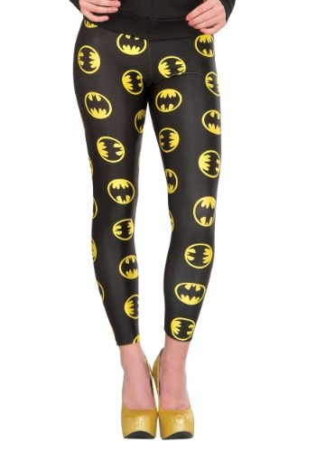 Click Here to buy DC Womens Batgirl Leggings for Women from HalloweenCostumes, CDN Funds