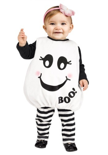 [Toddler Baby Boo! Ghost Costume] (Boo Baby Costume)