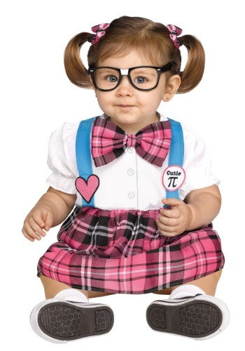 Click Here to buy Toddler Cutie Pi Nerd Costume from HalloweenCostumes, CDN Funds