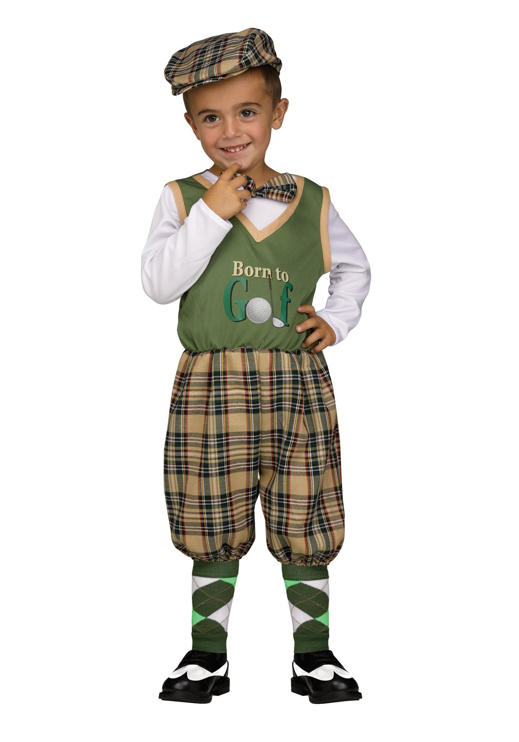 sc 1 st  Halloween Costumes & Toddler Lilu0027 Golfer Costume