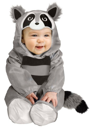 Click Here to buy Baby Raccoon Costume from HalloweenCostumes, USA Funds & Shipping
