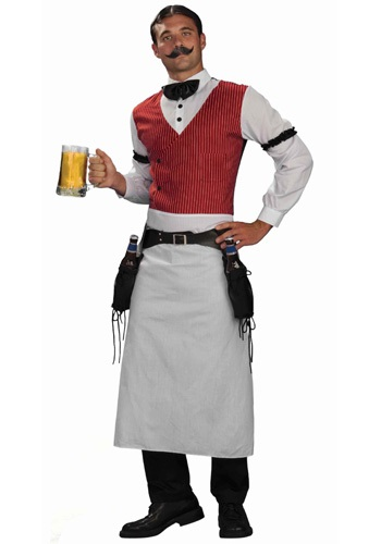 Click Here to buy Saloon Bartender Costume from HalloweenCostumes, USA Funds & Shipping
