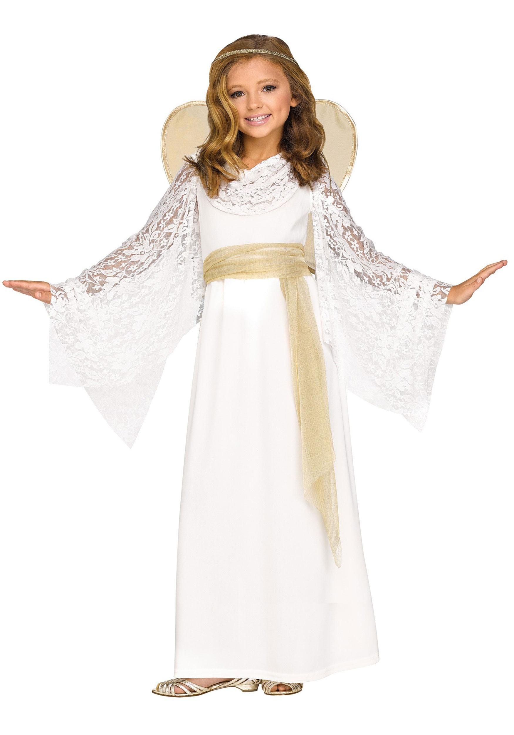 Heavenly Angel Costume Medium Child