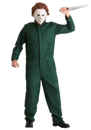 Men's Halloween II Michael Myers Coveralls Costume