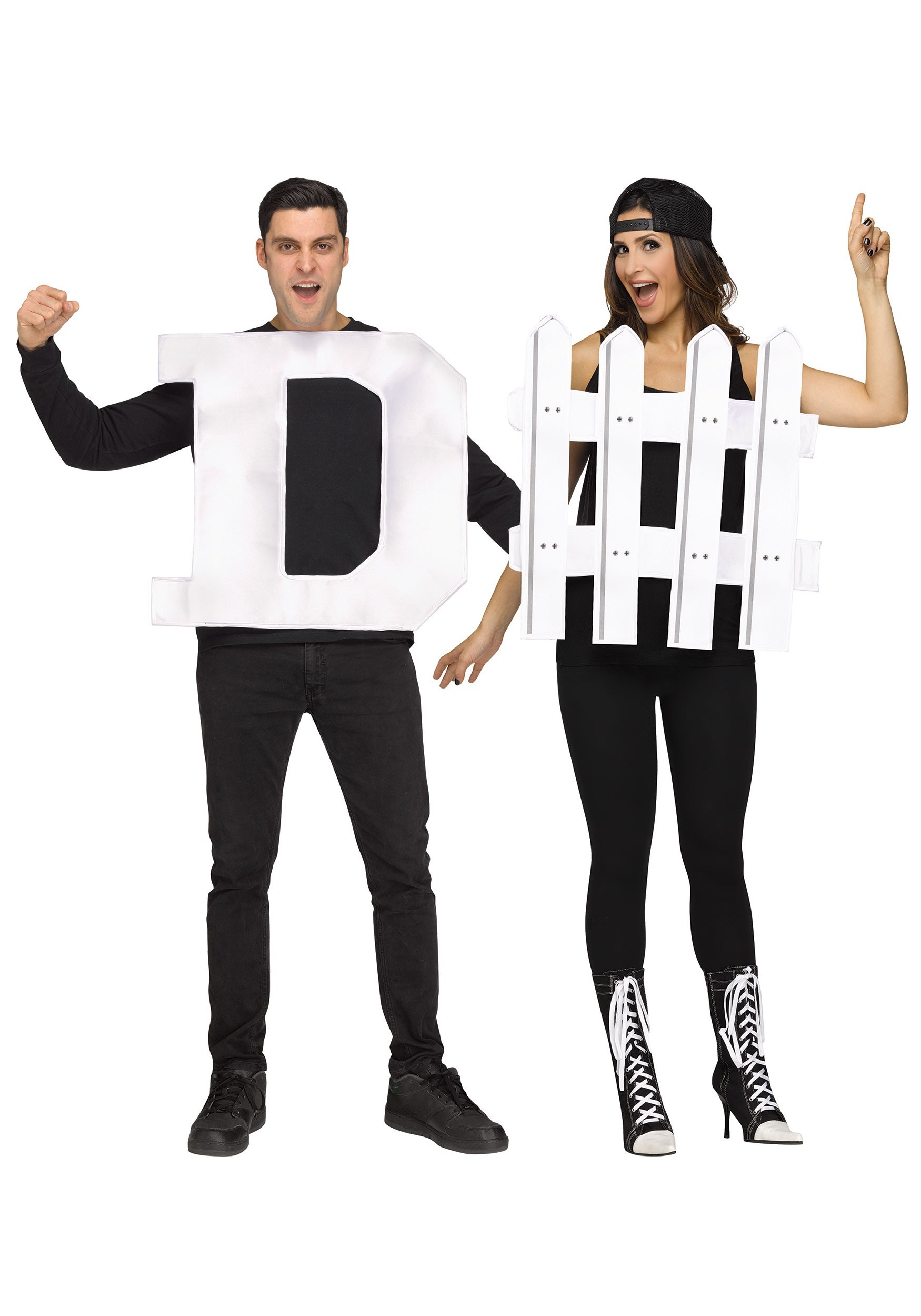 sc 1 st  Halloween Costumes & Adult D-Fence Costume