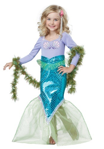 Click Here to buy Toddler Magical Mermaid Costume from HalloweenCostumes, USA Funds & Shipping